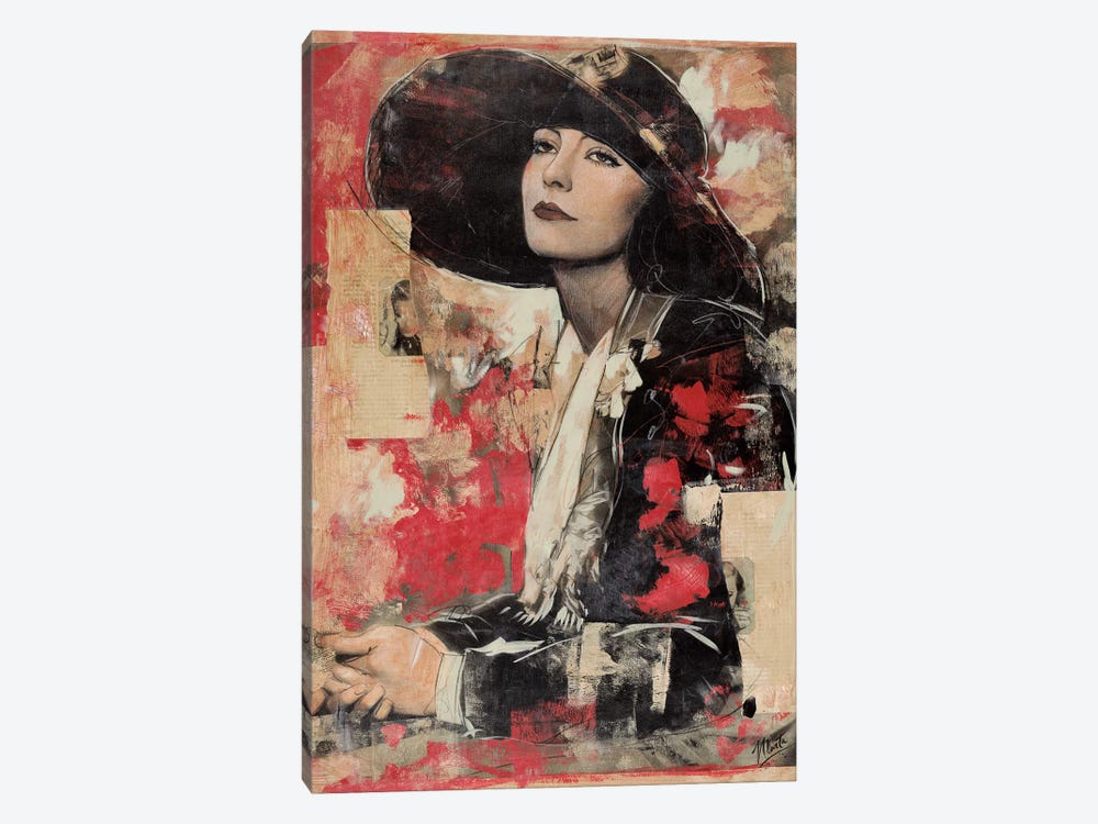 Vintage Goddess II by Marta G. Wiley 1-piece Art Print
