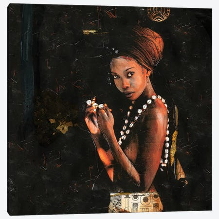 Queen of Excellence Canvas Print #MGW7} by Marta G. Wiley Canvas Artwork