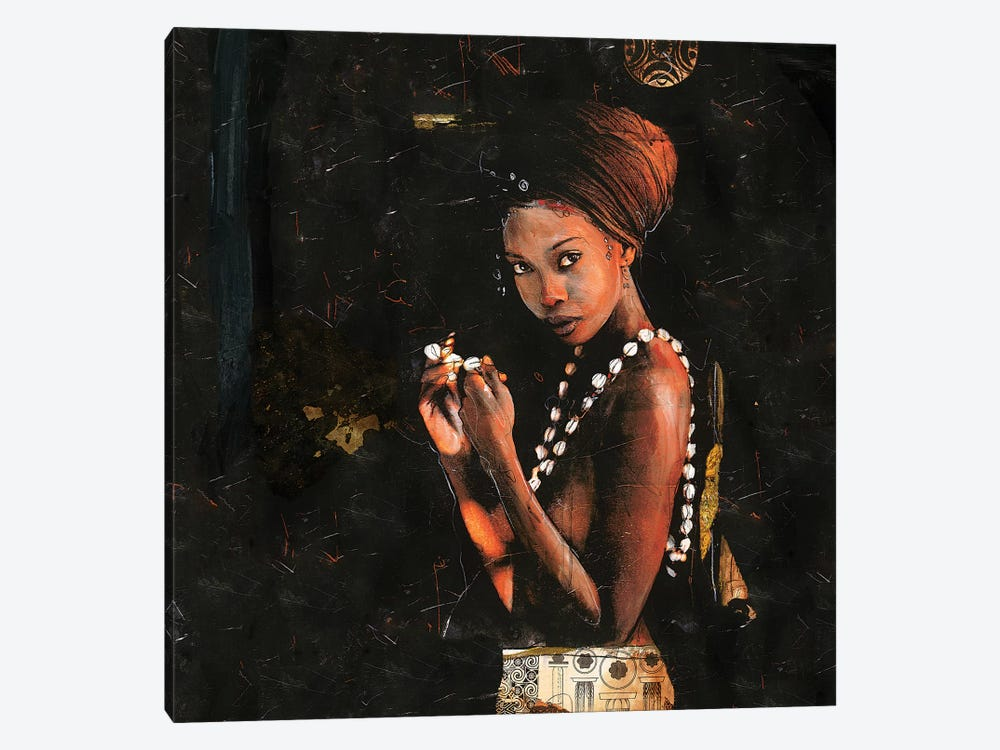 Queen of Excellence by Marta G. Wiley 1-piece Canvas Art Print