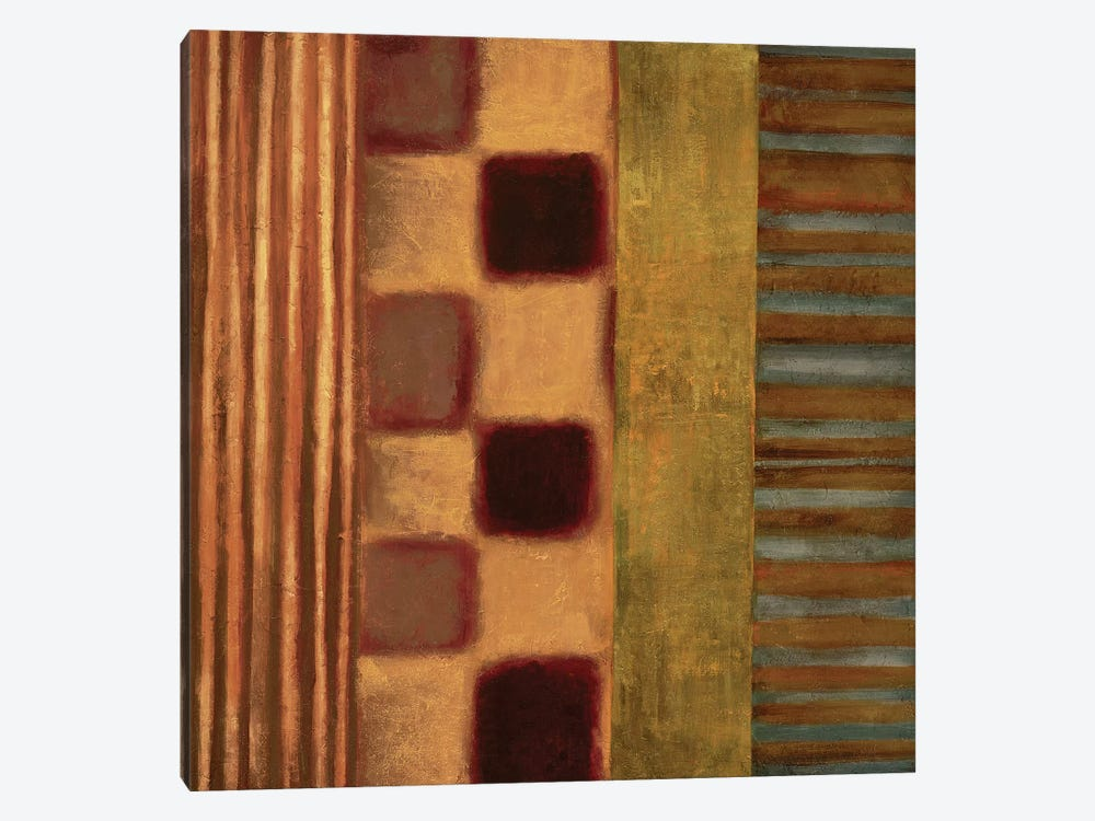 Juxtapose II by Max Hansen 1-piece Canvas Art Print