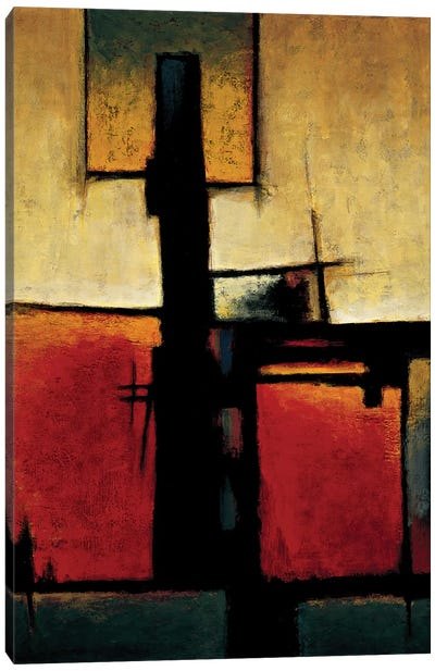 On The Edge II Canvas Art Print