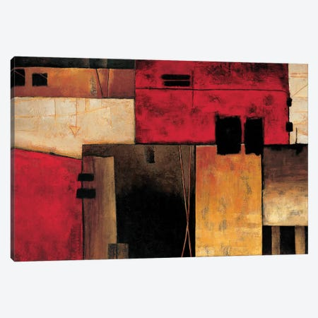 On The Horizon Canvas Print #MHA27} by Max Hansen Canvas Art Print