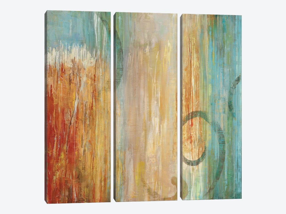 Perennial II by Max Hansen 3-piece Canvas Wall Art