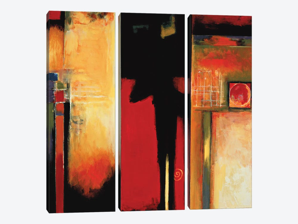 The Divide II by Max Hansen 3-piece Canvas Art Print