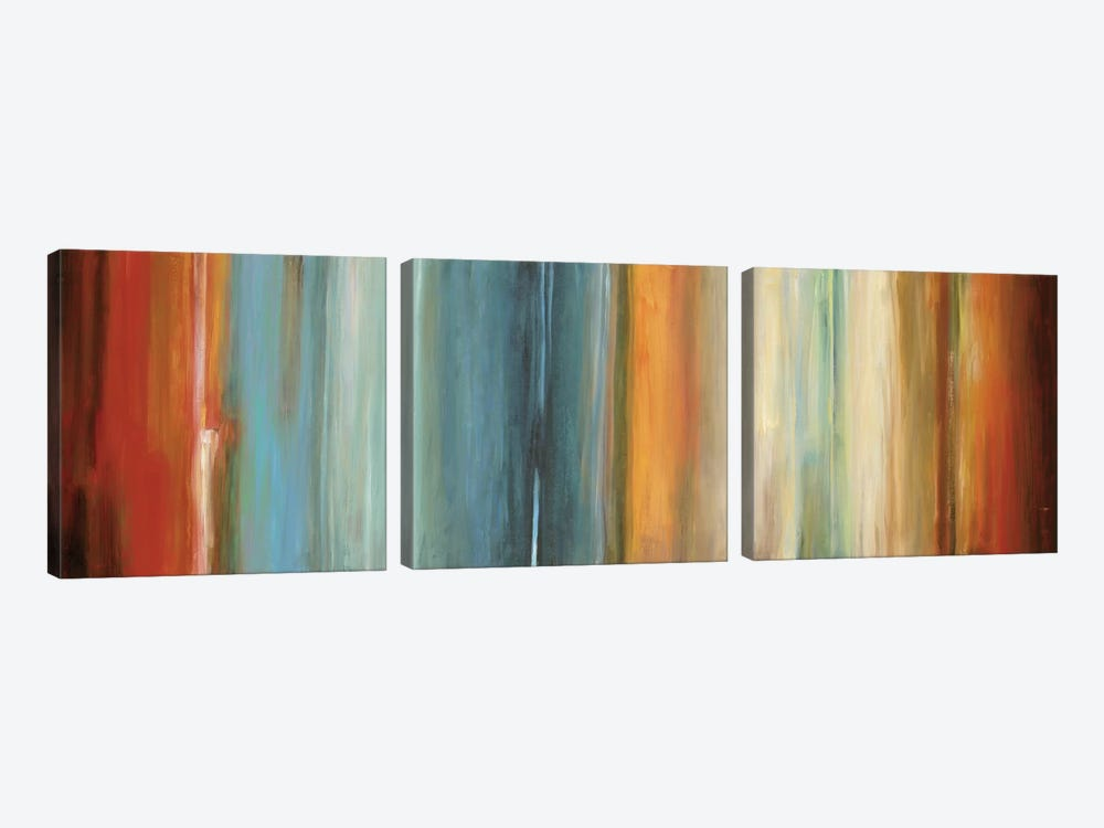 Flow II by Max Hansen 3-piece Canvas Wall Art