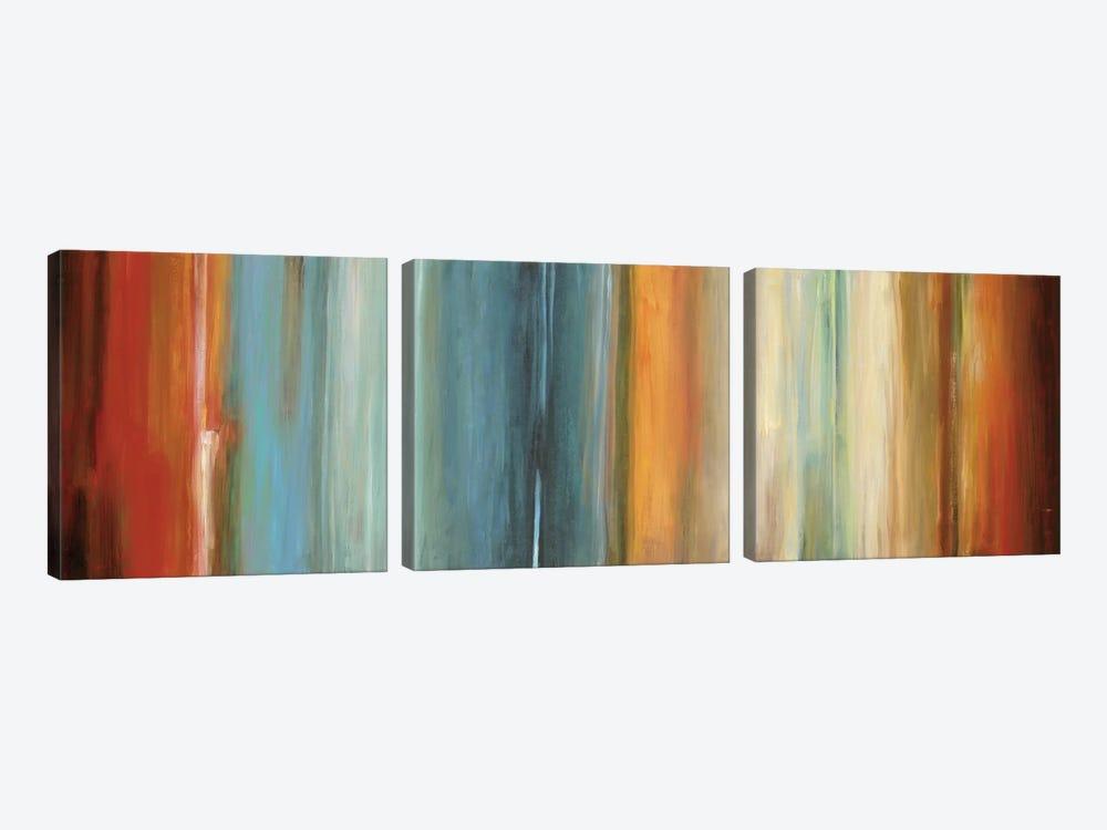 Flow II by Max Hansen 3-piece Canvas Wall Art