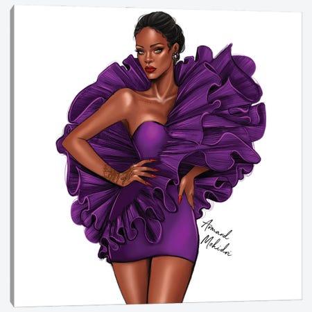 Rihanna Fenty Canvas Print #MHD110} by Armand Mehidri Canvas Art Print