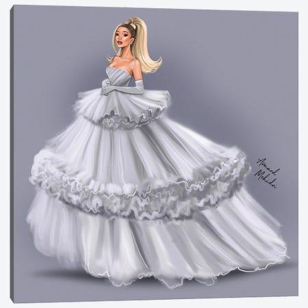 Ariana Grande Canvas Print #MHD34} by Armand Mehidri Art Print