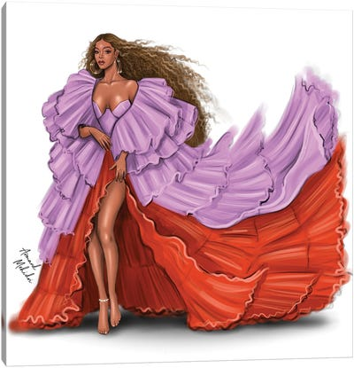 Beyonce, Spirit Canvas Art Print