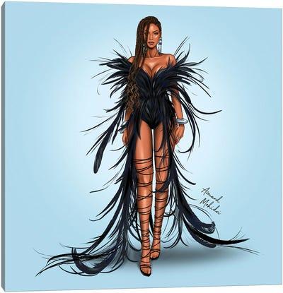 Beyonce, Black Is King Canvas Art Print