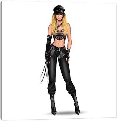 Britney Spears - I Love Rock & Roll Canvas Art Print