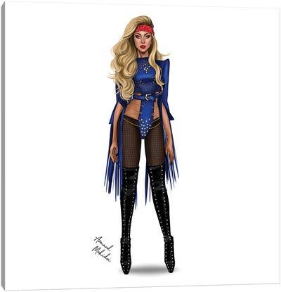 Lady Gaga - Judas Canvas Art Print
