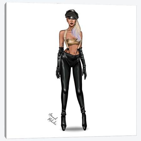 Lady Gaga - Love Game Canvas Print #MHD84} by Armand Mehidri Canvas Wall Art