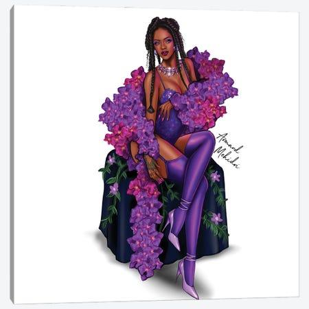 Rihanna Savage Fenty Canvas Print #MHD92} by Armand Mehidri Canvas Art