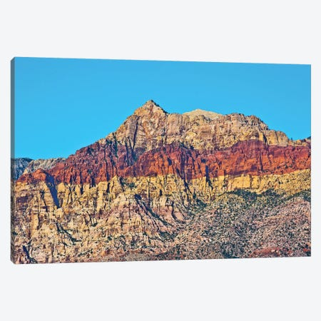 Red Rock Canyon National Conservation Area, Nevada, USA. Canvas Print #MHE17} by Michel Hersen Canvas Artwork