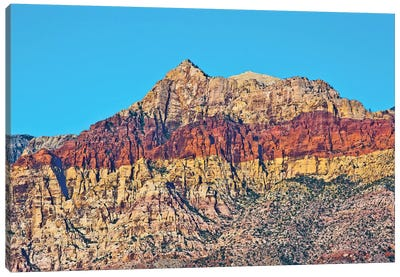 Red Rock Canyon National Conservation Area, Nevada, USA. Canvas Art Print