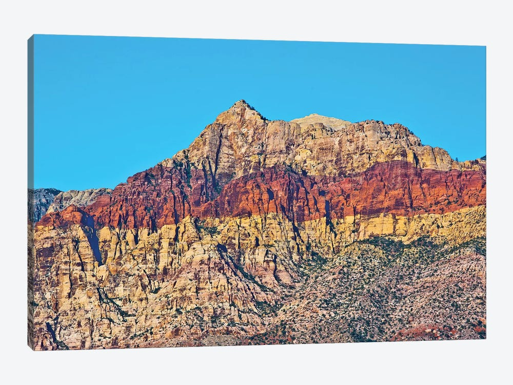Red Rock Canyon National Conservation Area, Nevada, USA. by Michel Hersen 1-piece Canvas Artwork