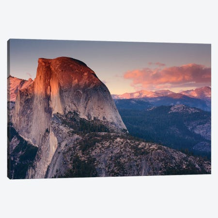 Half Dome As Seen From Glacier Point, Yosemite National Park, California, USA Canvas Print #MHE1} by Michel Hersen Art Print