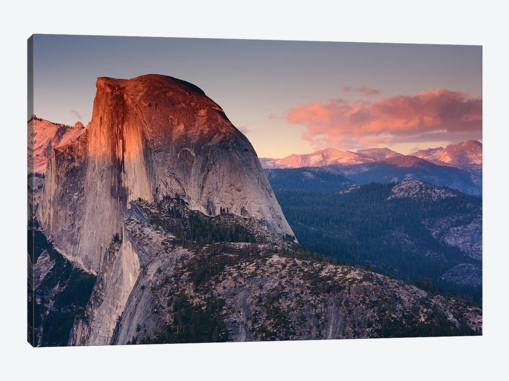 Half Dome As Seen From Glacier Point, Yosemite National Park, California, USA by Michel Hersen 1-piece Art Print