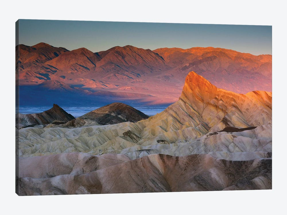 First Light Over Manly Beacon, Death Valley National Park, California, USA by Michel Hersen 1-piece Canvas Art