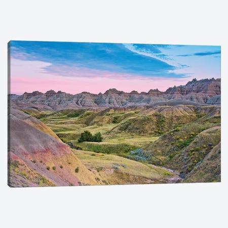 Badlands National Park, South Dakota, USA Canvas Print #MHE6} by Michel Hersen Canvas Art
