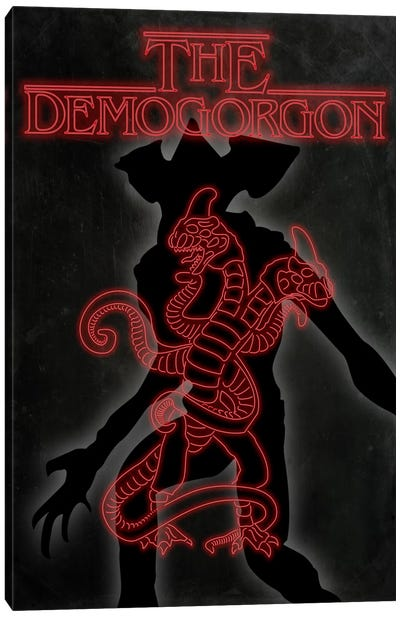 The Demogorgon Canvas Art Print