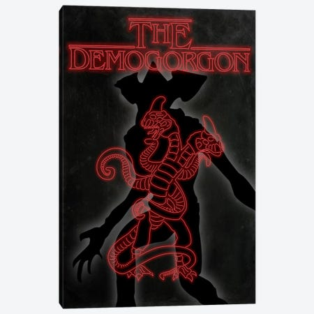 The Demogorgon Canvas Print #MHI14} by 5by5collective Canvas Artwork