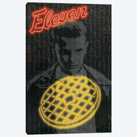 Leggo My Eggo Canvas Print #MHI4} by 5by5collective Canvas Wall Art