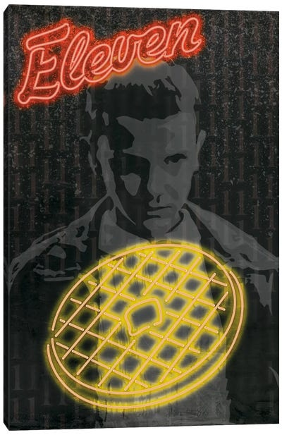 Leggo My Eggo Canvas Art Print