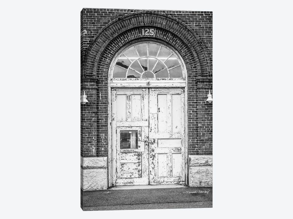 Boston Shipyard Doors   by Melissa Hanley 1-piece Canvas Art