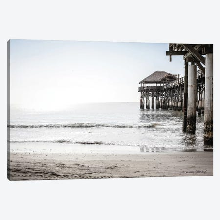 Cocoa Boardwalk Canvas Print #MHL6} by Melissa Hanley Canvas Art Print