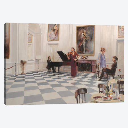 Sinfonia Canvas Print #MHM103} by Maher Morcos Canvas Wall Art