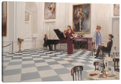 Sinfonia Canvas Art Print