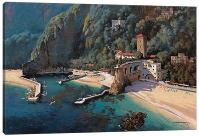 South Of Positano Canvas Art Print