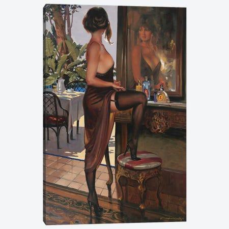 Stilettos Canvas Print #MHM109} by Maher Morcos Canvas Art