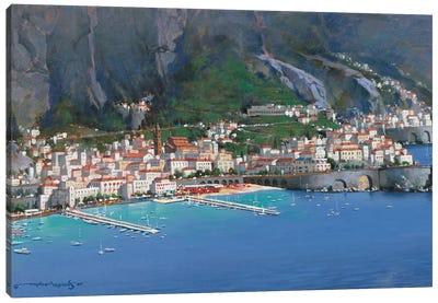 Amalfi Shores Canvas Art Print