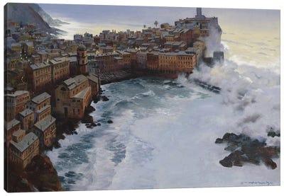 Stormy Dawn Canvas Art Print