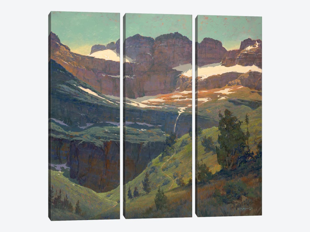 America by Maher Morcos 3-piece Canvas Art Print