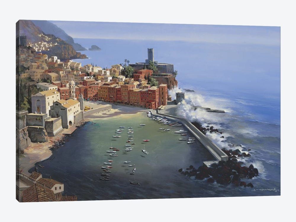 Vernazza by Maher Morcos 1-piece Art Print