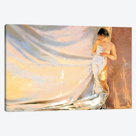 Warm Sheets Canvas Print #MHM135} by Maher Morcos Canvas Artwork