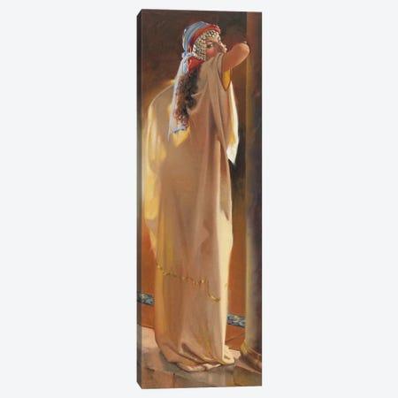 Arabian Beauty Canvas Print #MHM13} by Maher Morcos Art Print