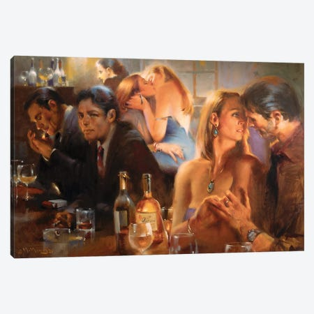 After Midnight Canvas Print #MHM144} by Maher Morcos Canvas Art Print
