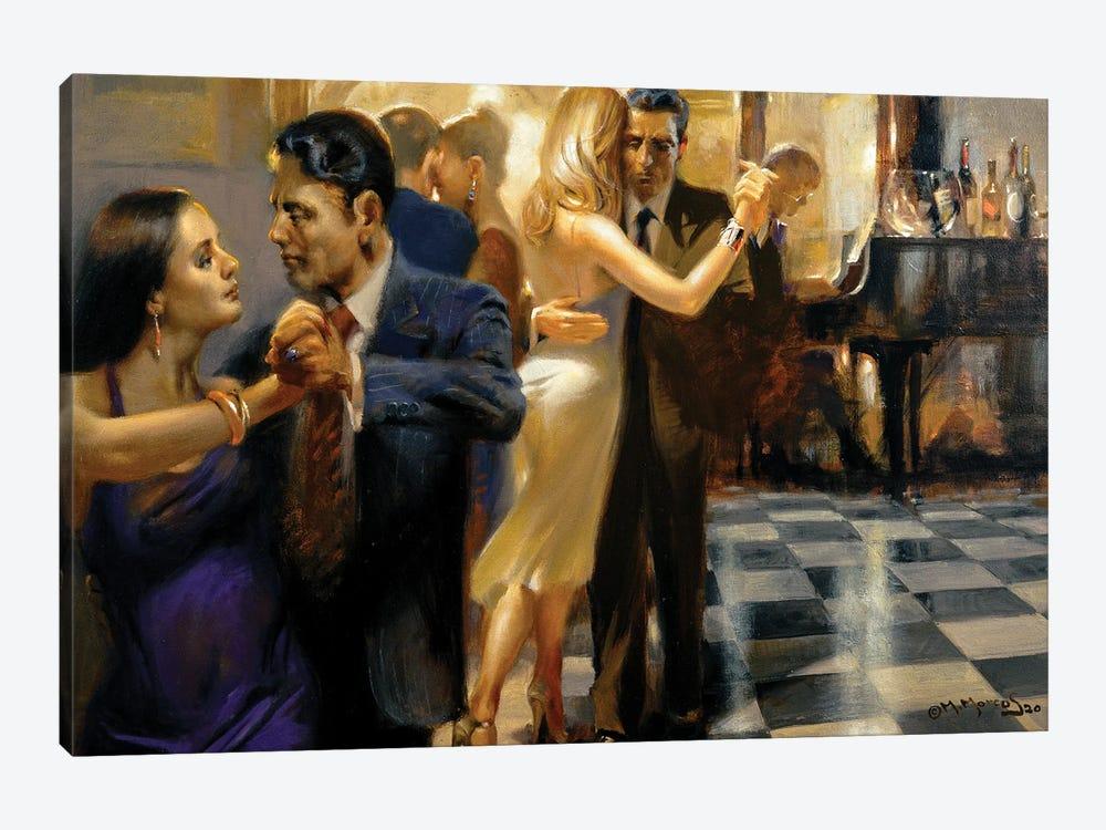 Saturday Night Tango by Maher Morcos 1-piece Art Print