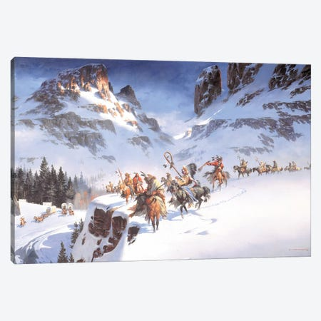 Behold The Intruders Canvas Print #MHM16} by Maher Morcos Canvas Wall Art