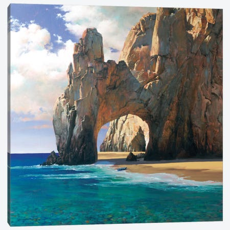 Cabo Canvas Print #MHM17} by Maher Morcos Canvas Wall Art
