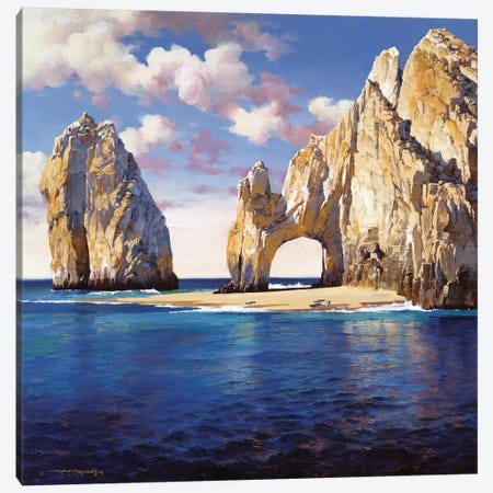 Cabo San Lucas Canvas Print #MHM18} by Maher Morcos Art Print