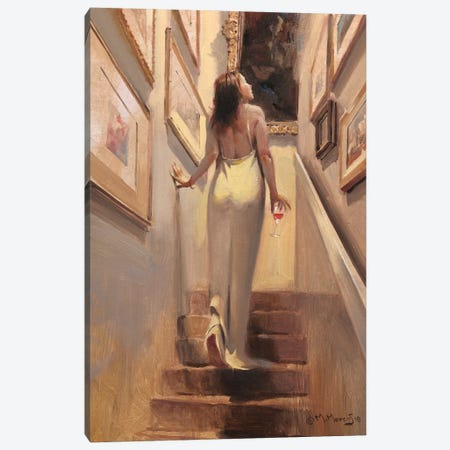 Coming Darling Canvas Print #MHM20} by Maher Morcos Canvas Artwork