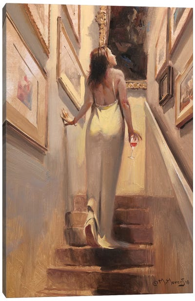 Coming Darling Canvas Art Print
