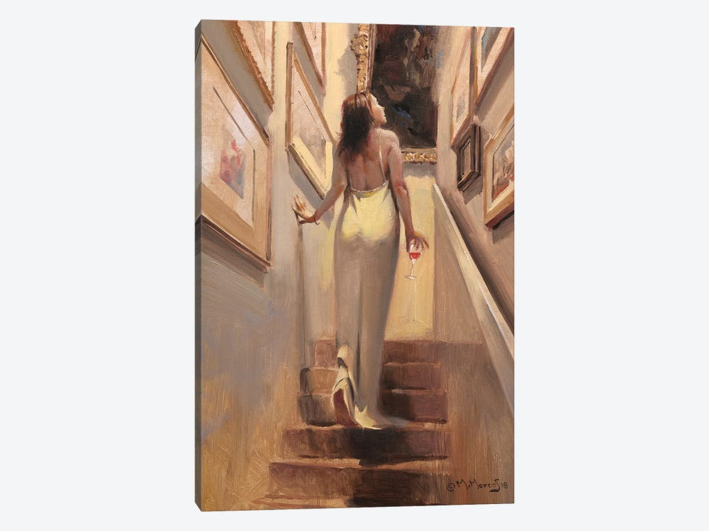 Coming Darling by Maher Morcos 1-piece Canvas Art Print