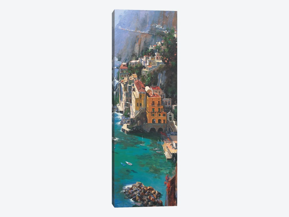Conca De Marini by Maher Morcos 1-piece Canvas Wall Art